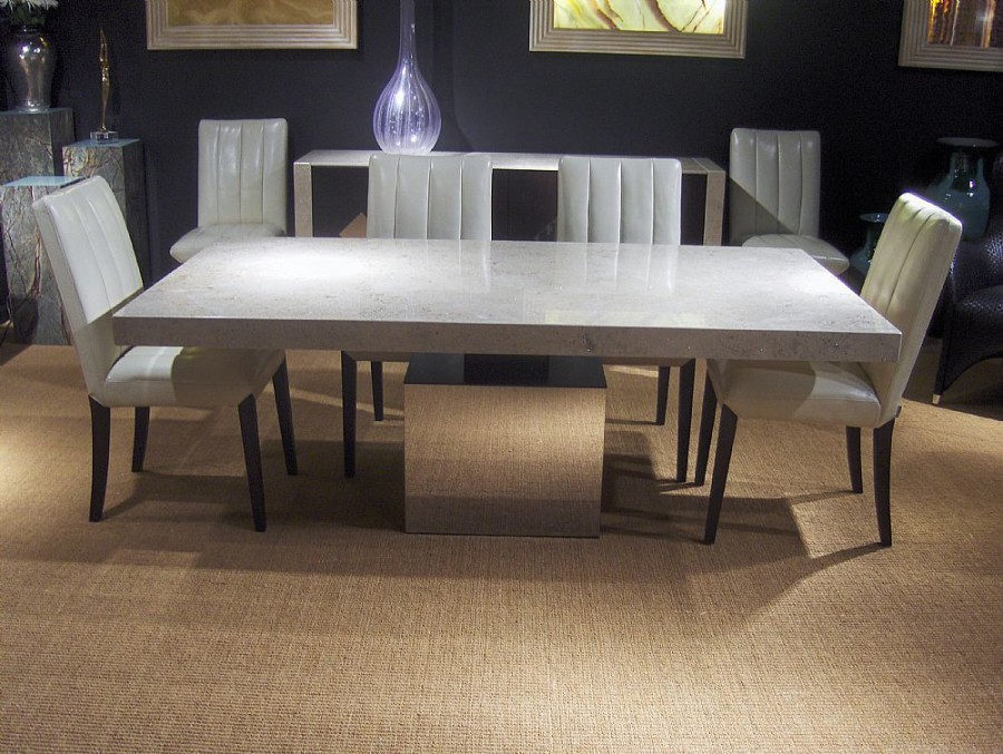Athena Marble Dining Collection Queenstyle Furniture Ltd