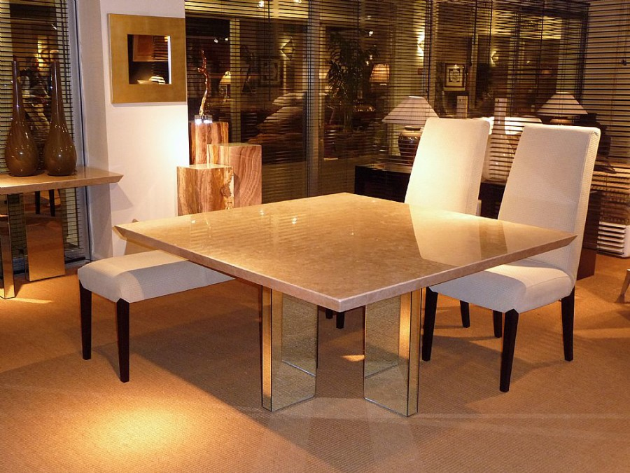 Italian Marble Dining Collection Queenstyle Furniture Ltd